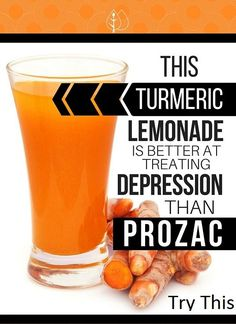 Turmeric Lemonade Is Better At Treating Depression