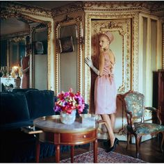 Original Limited Edition Mark Shaw Fashion Photo-Paris 1960