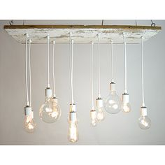 I have searched for an overhead lighting fixture and they are usually so blah. This - reclaimed - and stunning and expensive. Sigh.