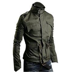 Fashion 2014 Autumn Mens Korean Style Slim Jacket Causual Outerwear Plus Size Coat, Medium, Army Green Fancy Dress Store http://www.amazon.com/dp/B00LL4PKIQ/ref=cm_sw_r_pi_dp_MSmdub1ZH21PQ