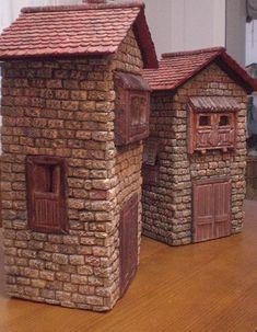 Foro de Belenismo - Paso a paso -> Una casita para el belen Shed, Creativity, Outdoor Structures, Outdoor Decor, Home Decor, Craft, Rustic Homes, Births, Nativity Sets