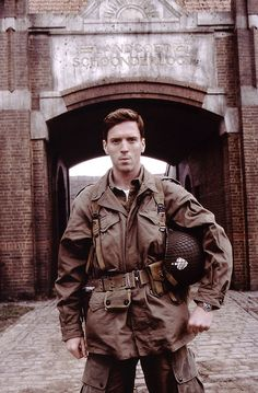 Damien Lewis as Richard Winters in Band of Brothers