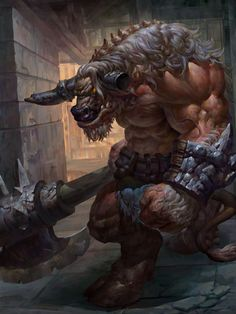 Learn the lore behind minotaurs and how to use them to create unique encounters for your D&D game. Cool Monsters, Dnd Monsters, Fantasy Monster, Monster Art, Mythical Creatures Art, Fantasy Creatures, Dungeons And Dragons Characters, Fantasy Characters, Fantasy Character Design