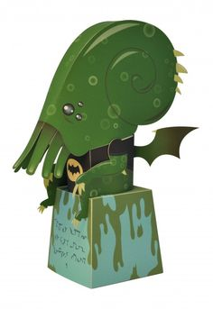 Cthulhu Paper Toy