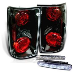 Rxmotoring 19891995 Toyota Pick Up Tail Light  8 Led Fog Bumper Lamp *** More info could be found at the affiliate link Amazon.com on image.