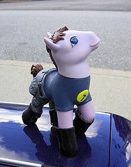 Captain Hammer little pony! @Melissa Martensen Now you can REALLY get into the ponies w/ Vivie!!!!!!!!!!!!!!!!!!!!!