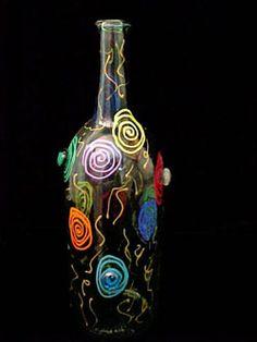 Wine Bottles On Pinterest Wine Bottle Charms Lighted