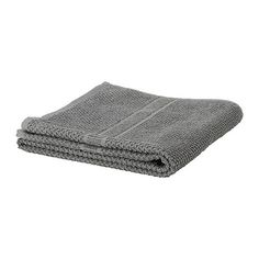 IKEA - FRÄJEN, Washcloth, A terry towel in medium thickness that is soft and highly absorbent (weight 500 g/m²).The long, fine fibers of combed cotton create a soft and durable towel.
