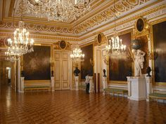 Warsaw, Kings Castle, Knight's Hall 1784-86, D. Merlini, J. Ch. Kamsetzer