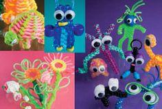 Leuke voorbeelden uit het boekje Scoubidou knooppret! http://www.yoarra.nl