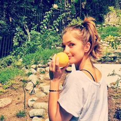 Minka Kelly @minkak Dat mornin lemon ...Instagram photo | Websta (Webstagram)