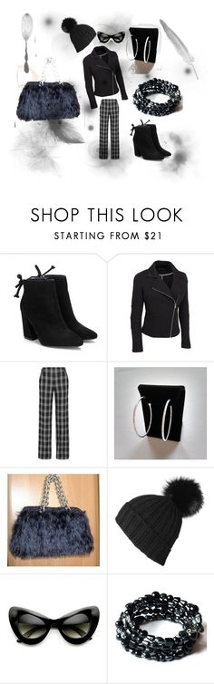 """Black is Nice"" by onlybiju ❤ liked on Polyvore featuring Proenza Schouler, Black, ZeroUV and plus size clothing"