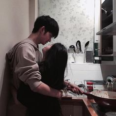 ulzzang, asian, and couple image Couple Ulzzang, Ulzzang Girl, Cute Relationship Goals, Cute Relationships, Marriage Goals, Boyfriend Goals, Future Boyfriend, Paar Illustration, Parejas Goals Tumblr