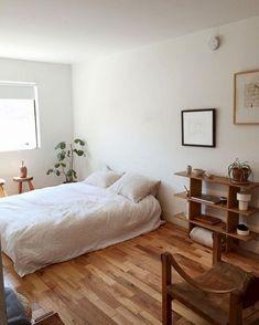 Minimalist Home Decor, Minimalist Bedroom, Girls Bedroom, Master Bedroom, Warm Bedroom, Bedroom Art, Bedroom Colors, Bedroom Furniture, Boho Bedroom Decor