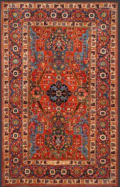 Persian Bidjar Oriental Rug #39048