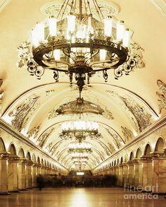 Moscow Underground Station