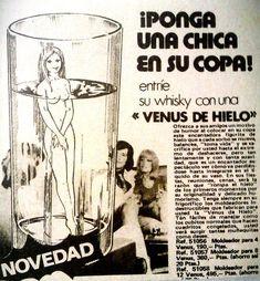 """""""Los anuncios son noticias"""", reza el Manifiesto Publicista. He aquí un ejemplo de """"noticia"""" que nos informa de un producto imprescindible para la supervivencia humana (década de los 70)"""