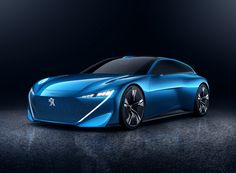 peugeot instinct self driving concept car designboom