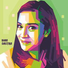 @carita_sdc on Instagram: 'Jika emosi mengalahkan logika, banyakan ruginya kan?' Cinta - AADC  #wpap #sdc #vector #popart #uncurve #coreldraw #indonesian #actrees