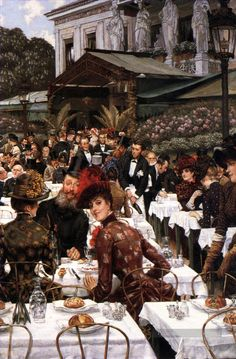 The artistes Ladies James Jacques Joseph Tissot Peintures à l'huile