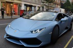 Luxury Sports Cars, Sport Cars, Matte Cars, Matte Car Paint, Fancy Cars, Cool Cars, Blue Lamborghini, Lamborghini Veneno, Lux Cars