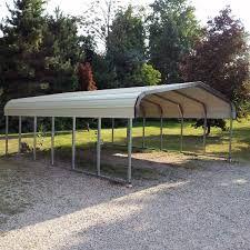 Regular Style Carport Available At Www Bargainstructures Com Steel Carports Metal Carport Kits Carport Kits