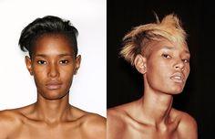 As transformações capilares do verão 2017 de Alexander Wang