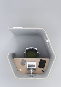 The open office has delivered many benefits; however we have recognized the need for privacy within the workplace environment. Haven Pods provide a defined space for individual focused work and spaces for team collaboration. The space efficient geometric design also enhances the acoustic performance of the product.