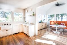 Jen Langston 's style is all about the marriage of old and new, simple architecture combined ef...