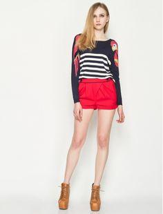 Yumi Red Nautical Cr
