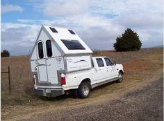 A-Frame truck camper