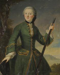 Mademoiselle de Charolais, principessa Louise Anne de Bourbon-Condé (1695 – 1758), early 18th century, French school