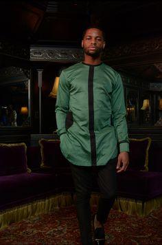 African Attire For Men, African Men Fashion, African Wear, Mens Fashion, Costume Africain, African Shirts, Swagg, Muslim, Queens