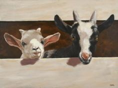 Caryn King Painting from the Vermont Hand Crafters website