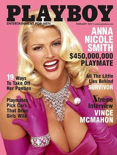 playboy magazine covers | Take a look back at Smith's iconic Playboy covers and the Guess ads ...