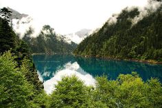 Jiuzhaigou Valley, northern Sichuan province, China