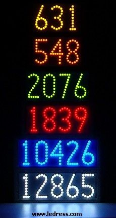 1000 Images About Led Lighted House Numbers By Ledress On