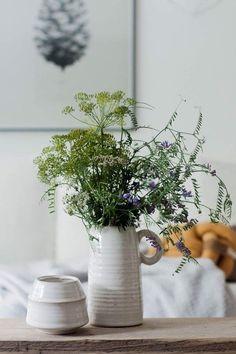 ...in die Vase bitte.