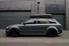 B7 Audi Avant with Box