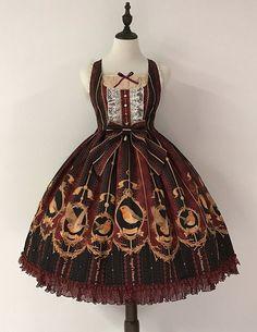 #Leftovers: Angel's Heart -Robin- Lolita Normal Waist Jumper Dress