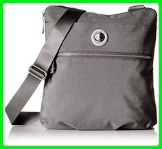 Baggallini Hanover Silver, Graphite - Satchels (*Amazon Partner-Link)