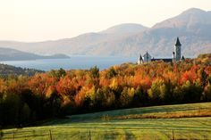 50 natural destinations which should always be fall - Eastern Townships (Canada): An unforgettable fall