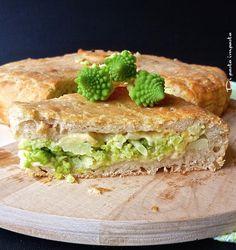 Di pasta impasta: Pizza ripiena di broccolo romano con lievito madre...