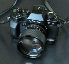 Contax RTS III et Planar 85mm f/1.4