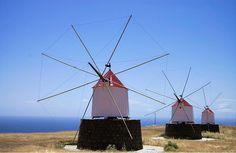 Porto Santo wind mills #Portugal #Madeira