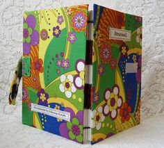 Handmade psychedelic journal  £17.75