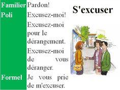 s'excuser