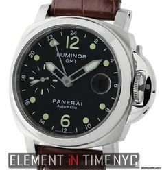Panerai Luminor CollectionLuminor GMT 40mm Stainless Steel 2005 Reference #: PAM 159