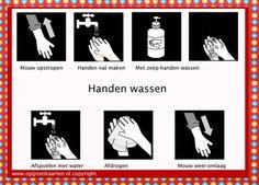 Internationale Dag van het Handen Wassen - How To Wash Your Hands School Health, Pediatric Ot, Social Stories, Love My Job, Primary School, Classroom Management, Occupational Therapy, Activities For Kids, Kindergarten