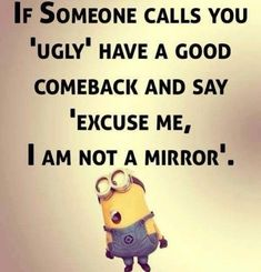 25 Hilarious jokes Minions Everyone loves minions more than any other personality. So you love Minions and also looking for Minions jokes then we have posted a lovly minion jokes.Read This 25 Hilarious jokes Minions 25 Minion Humour, Funny Minion Memes, Minions Quotes, Stupid Funny Memes, Funny Relatable Memes, Funny Texts, Hilarious Jokes, Lame Jokes, Funny Stuff